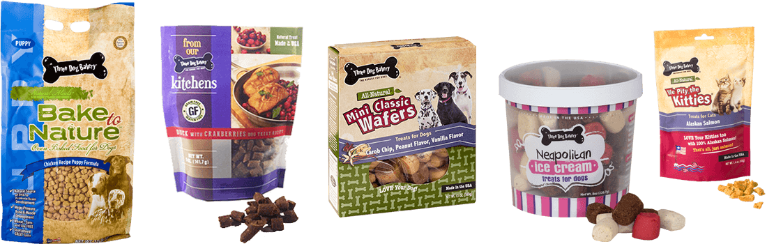 Three Dog Bakery Texas - The Bakery for Dogs - All Natural, Fresh-Baked, Ultra Premium Dog Food, and Treats for Dogs